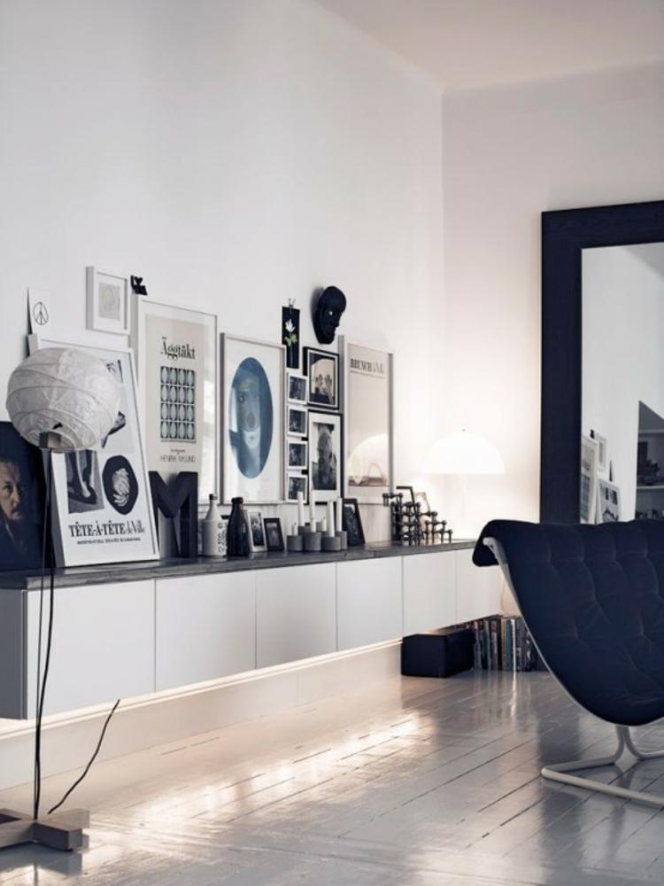 Ikea Besta Einheiten in Inneneinrichtung kreativ