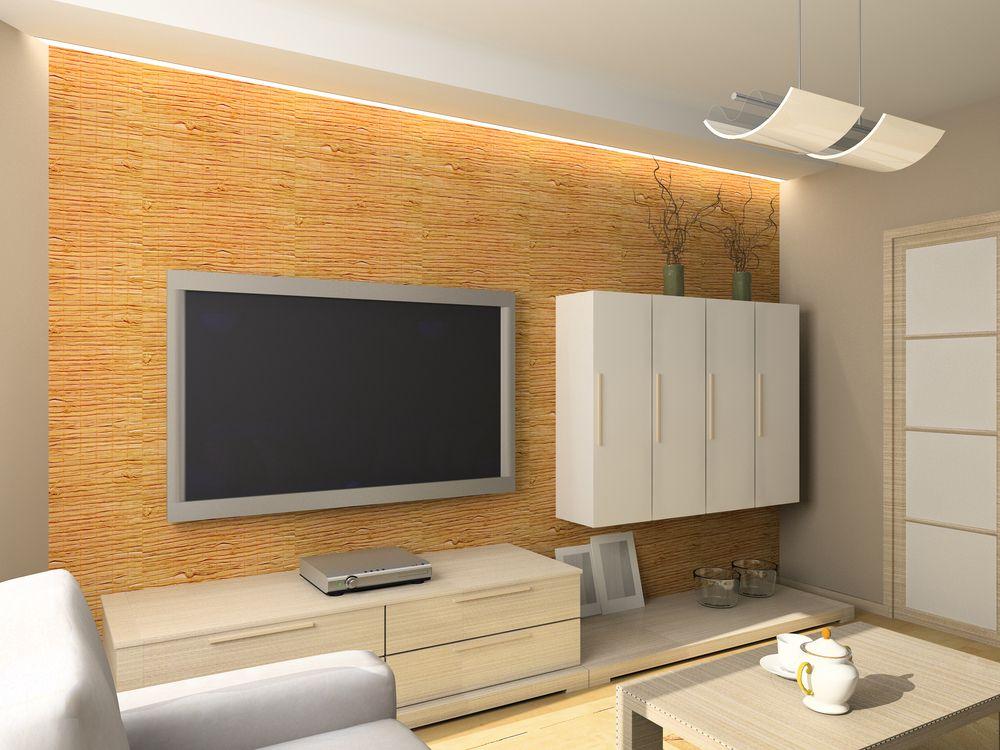 Indirekte Beleuchtung an der TV Wand DIY