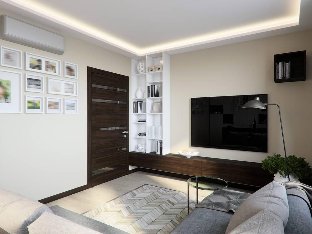 Indirekte Deckenbeleuchtung Wohnzimmer
