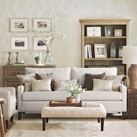 Kreative Wandgestaltung im Wohnzimmer Ideen für