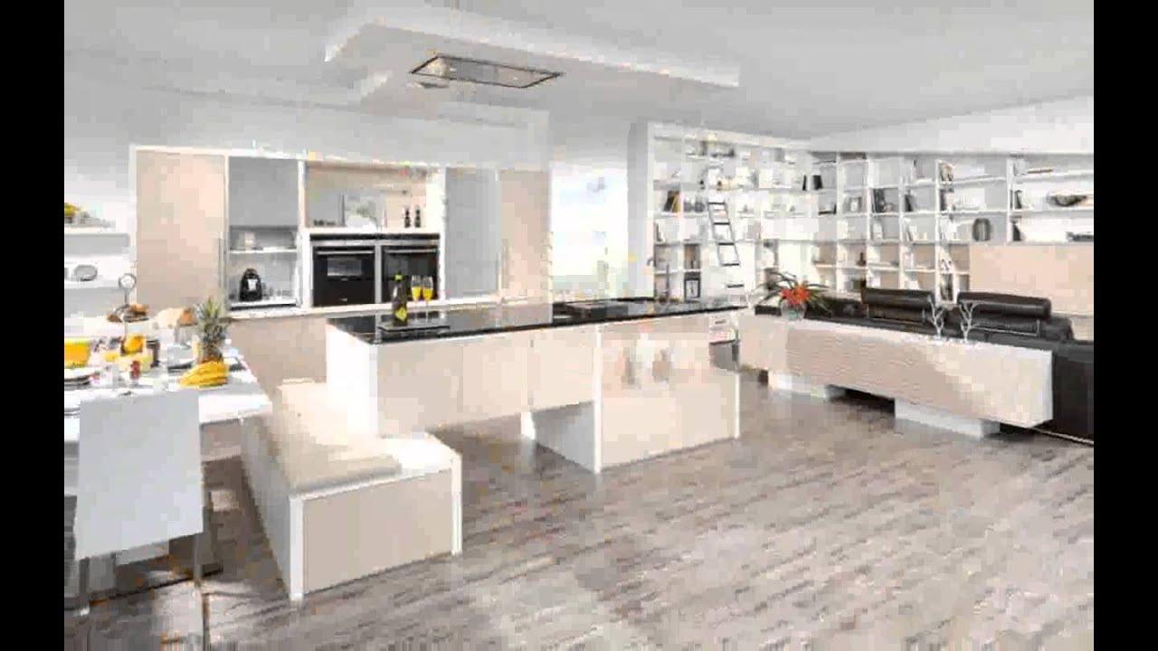 Küche Und Wohnzimmer in Einem design