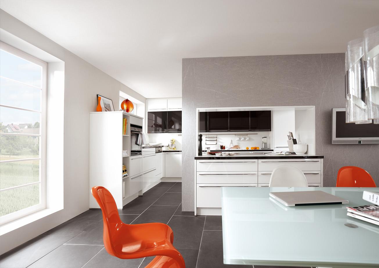 Kücheneinrichtung Ideen für Singleküchen