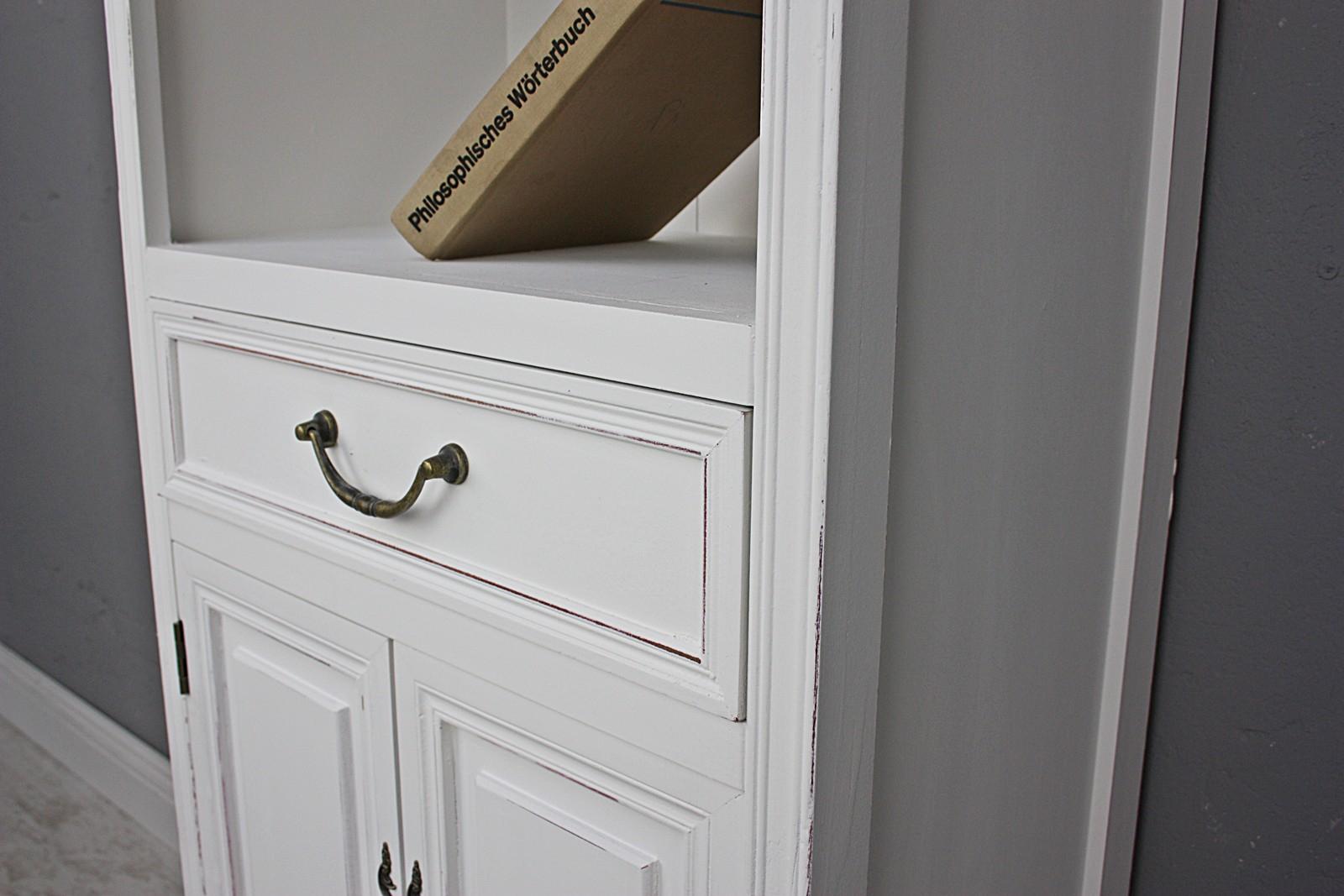 Küchenschrank Schrank weiß Holz