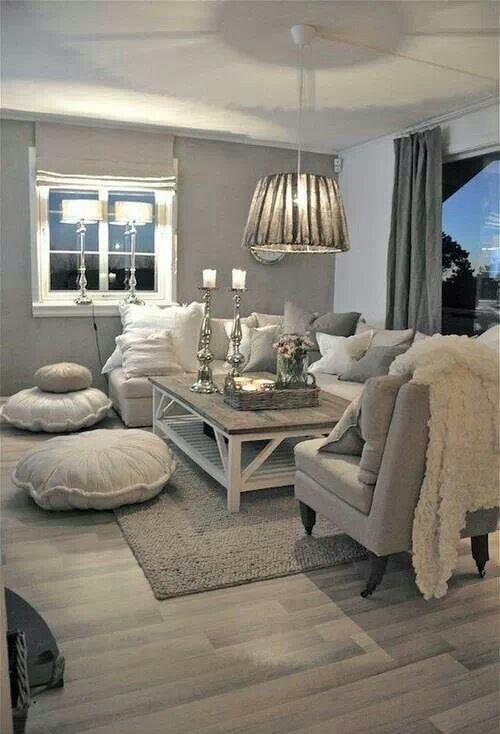 Landhaus Wohnzimmer Wohndesign