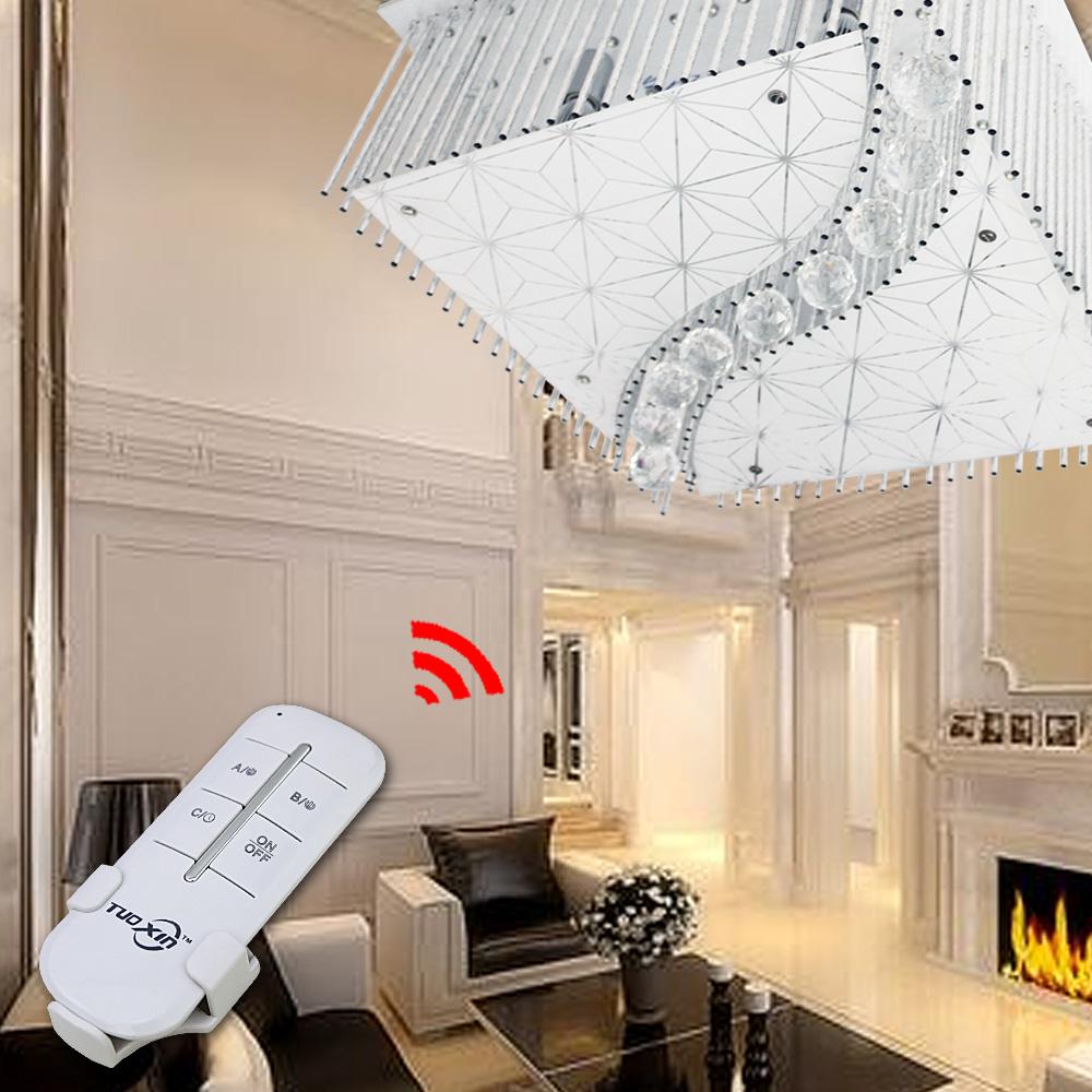 LED Deckenlampe Kristall Kronleuchter Decken Hänge