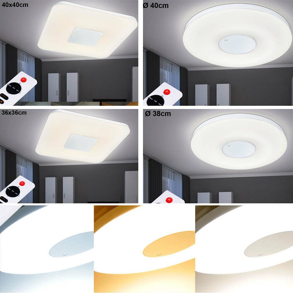 LED Deckenlampen Fernbe nung Wohnzimmer Dimmer Leuchten