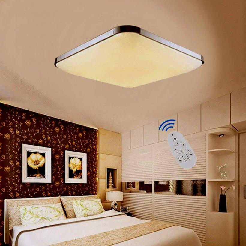 Led Deckenleuchte Wohnzimmer ETiME LED Dimmbar Deckenlampe