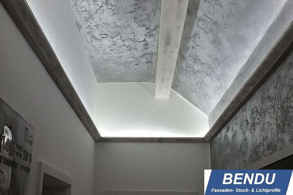 LED Stuckleisten Lichtvouten Profile indirekte Beleuchtung