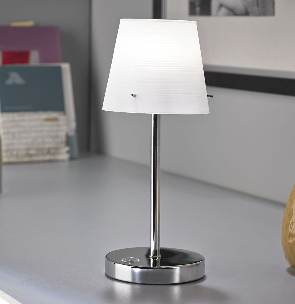 LED Touch Me Nachttischlampe Leselampe dimmbar Wohnzimmer