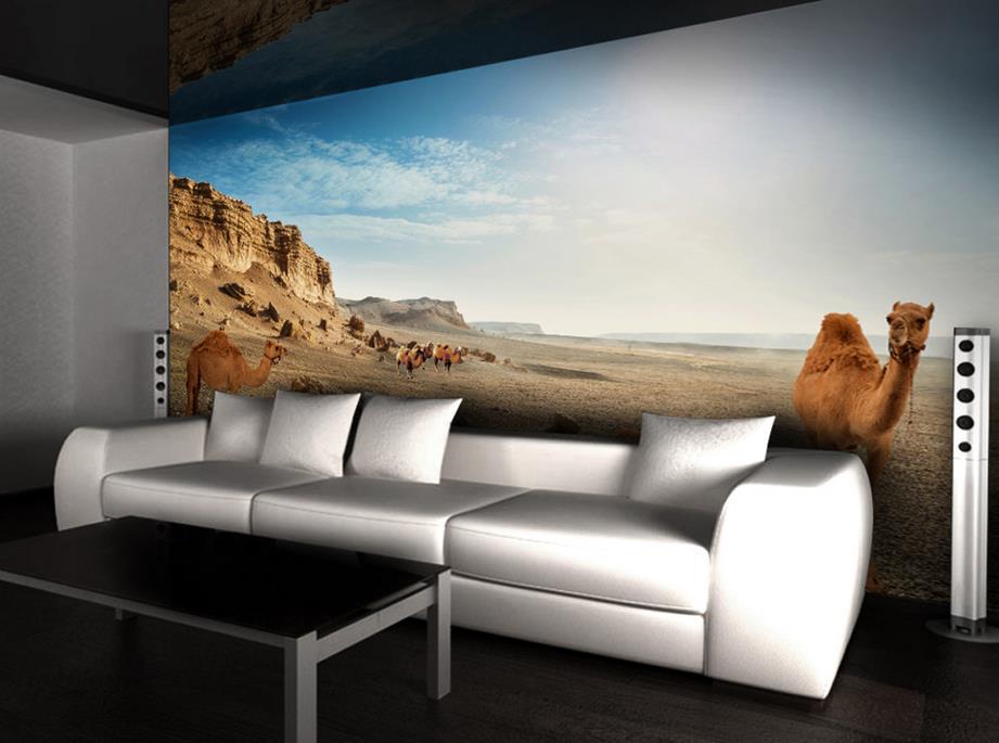 line Kaufen Großhandel wüste wandbild aus China wüste