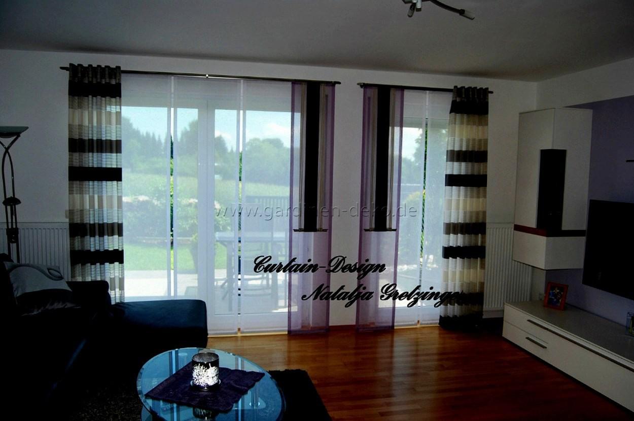 Livingroom With Edle Gardinen Wohnzimmer And Edle Gardinen