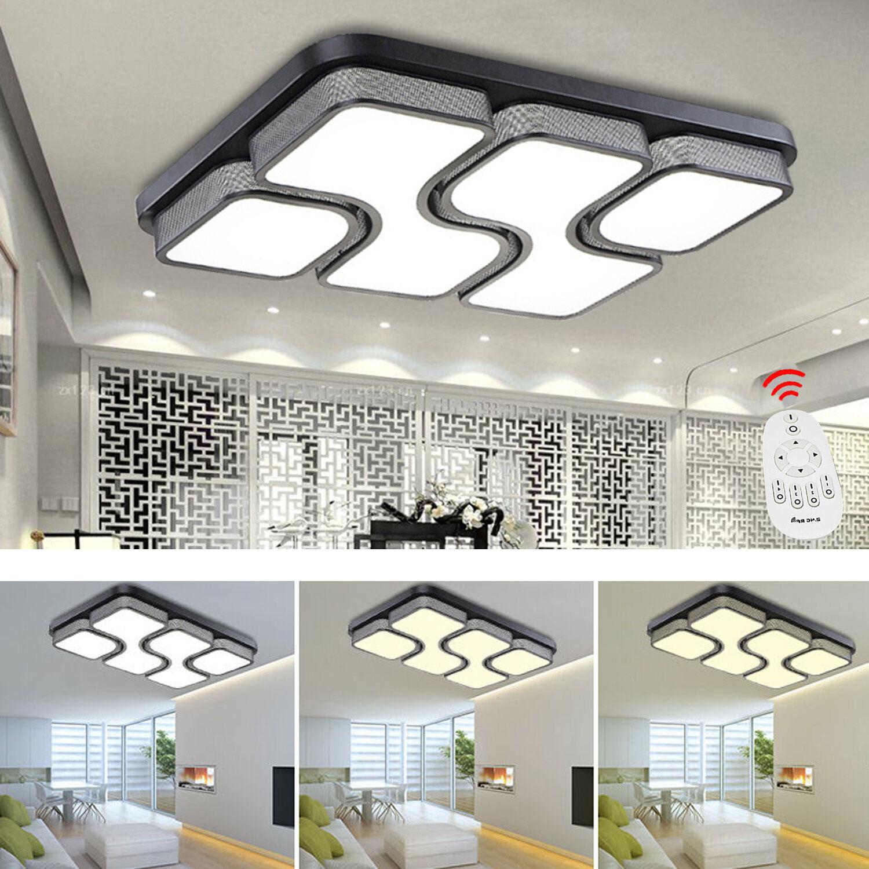 MODERN 24W 80W LED Deckenleuchte Led Deckenlampe Dimmbar