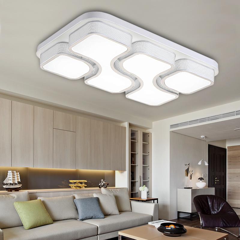 Modern LED Deckenleuchte 36W 48W Wohnzimmer Deckenlampe