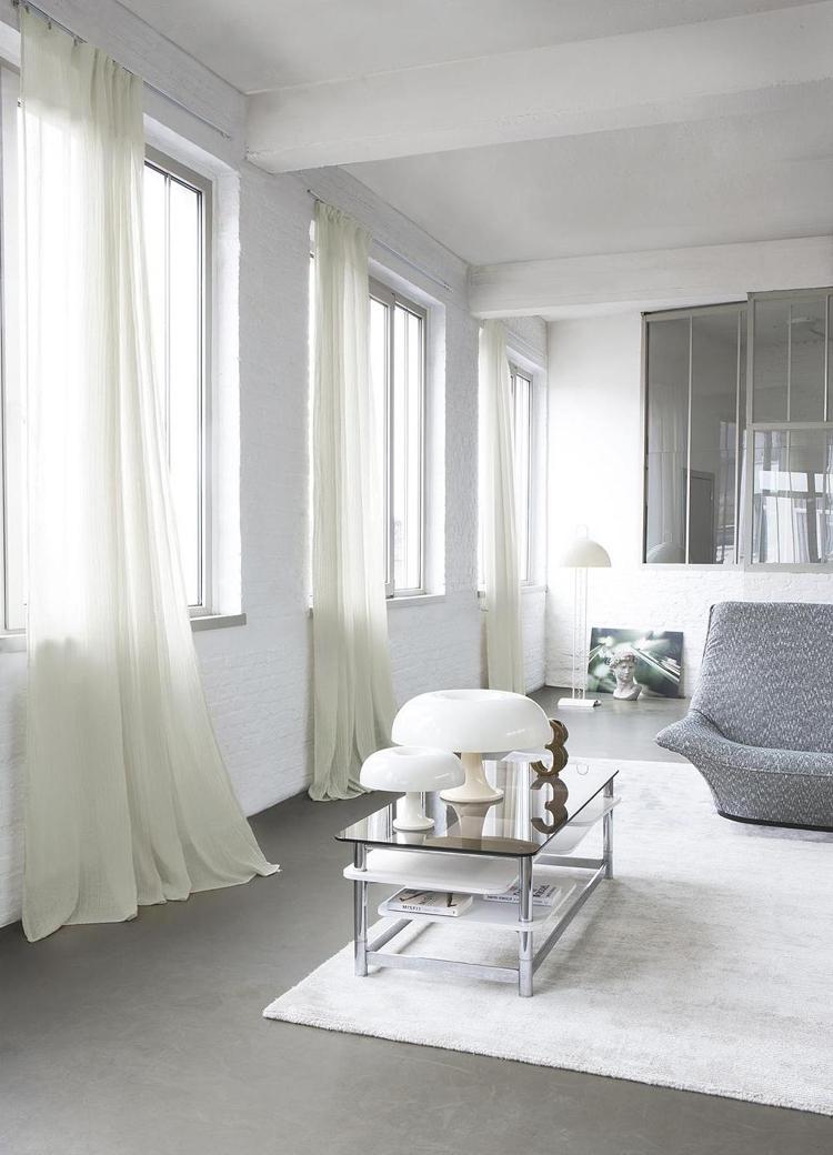 Moderne Gardinen und Vorhänge aus Leinenstoffen 30 Ideen