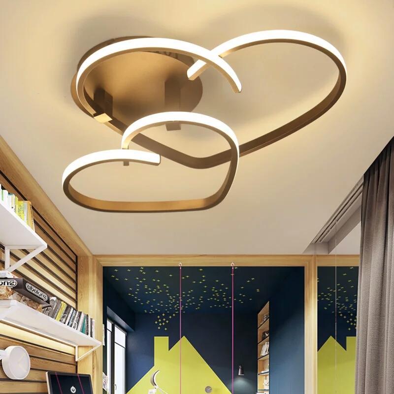 Moderne Led Deckenlampe Wohnzimmer