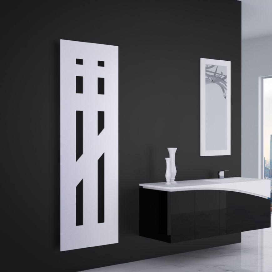 Moderne vertikale Design Heizkörper Wohnzimmer elegante