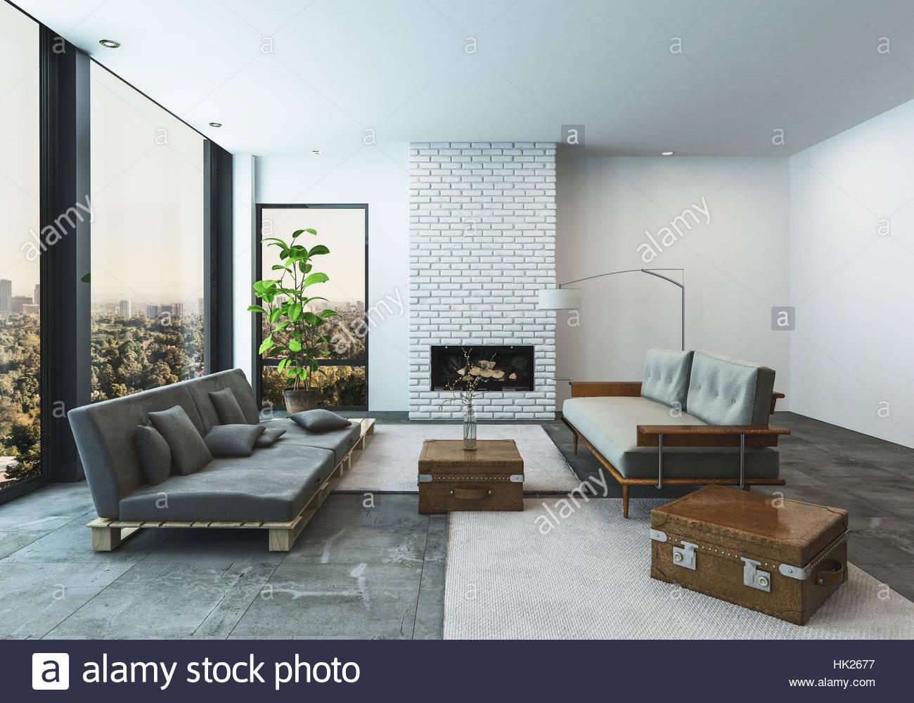 Moderne Wohnzimmer Moderne Wohnzimmer Winterlich With