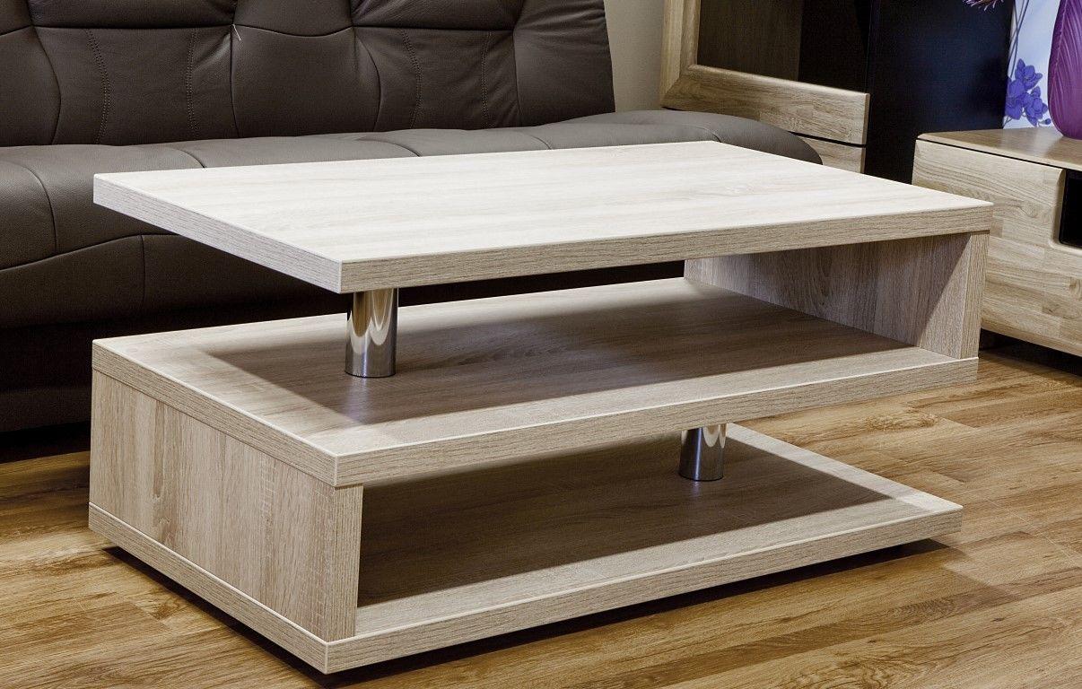moderner Couchtisch 120cm Wohnzimmertisch Sofatisch Tisch