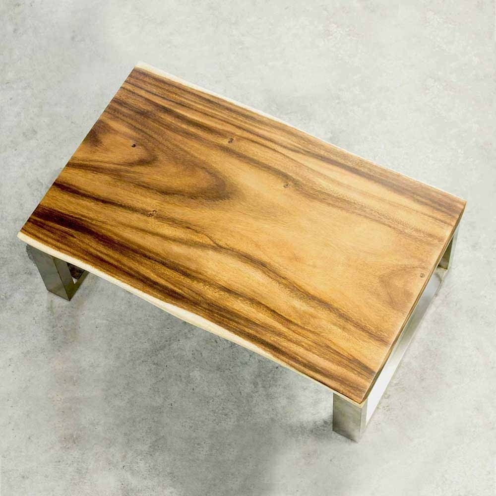 Moderner Wohnzimmertisch aus Suar Holz Yennja