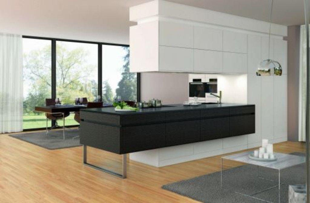 Modernes Wohnen Küche Lebensraum für alle Bauen
