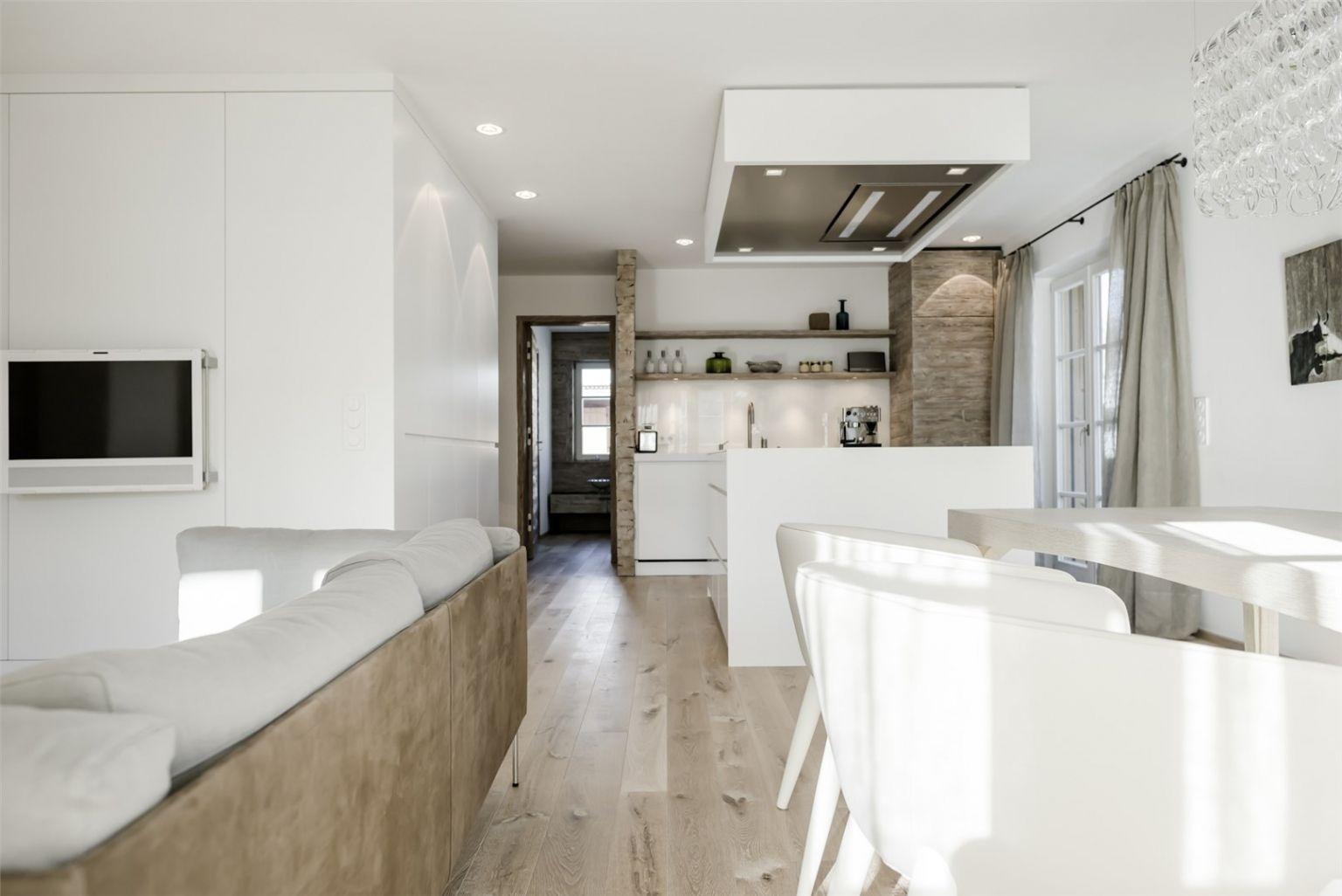 Neu Wohnzimmer fene Küche