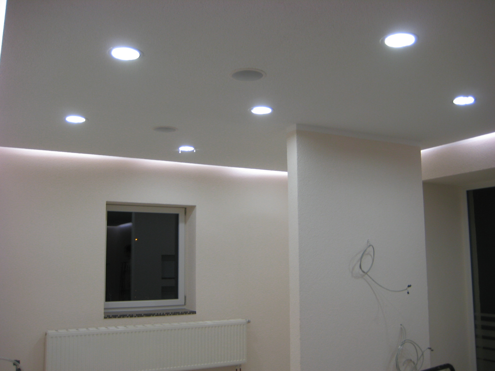 Neubau komplettes Haus mit LEDs
