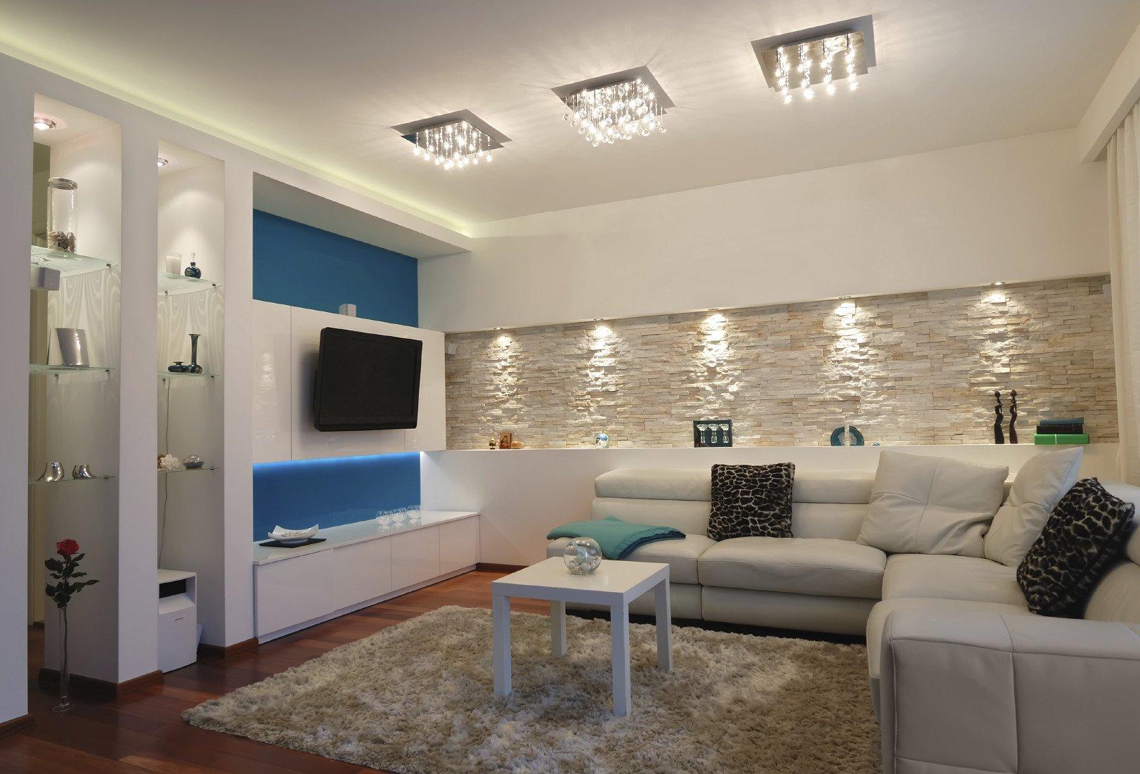 Neue Beleuchtungsideen für Ihr Wohnzimmer fresHouse