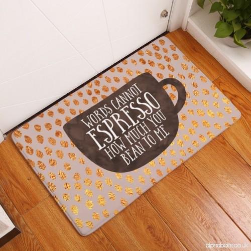 Neuesten Brief druck Fußmatten Bunte Flecken Teppiche für
