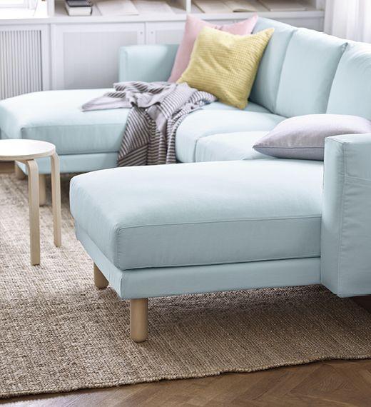 NORSBORG 2er Sofa mit zwei Récamieren Möbel