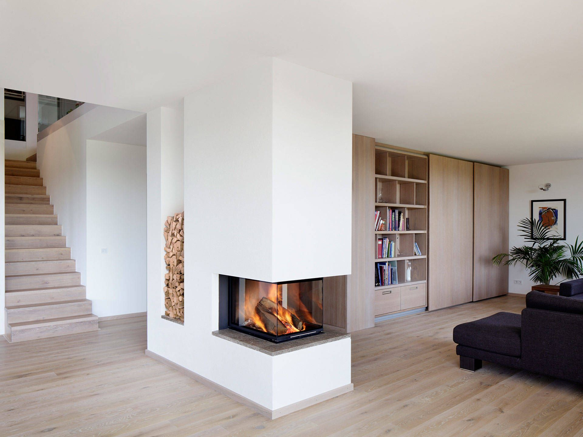 Passivhaus Kieffer in 2019 Kamin Pinterest