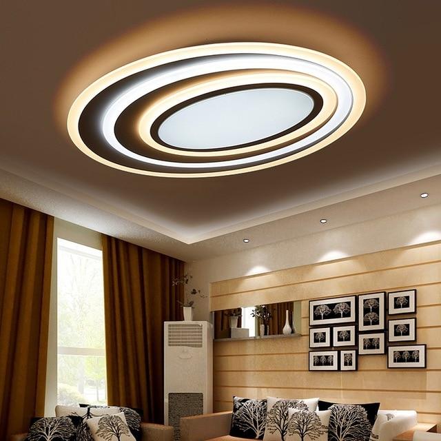 Postmodernen Acryl Kunst Well Led deckenleuchte Wohnzimmer