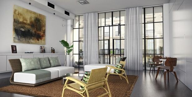 Schöne vorhänge fürs wohnzimmer