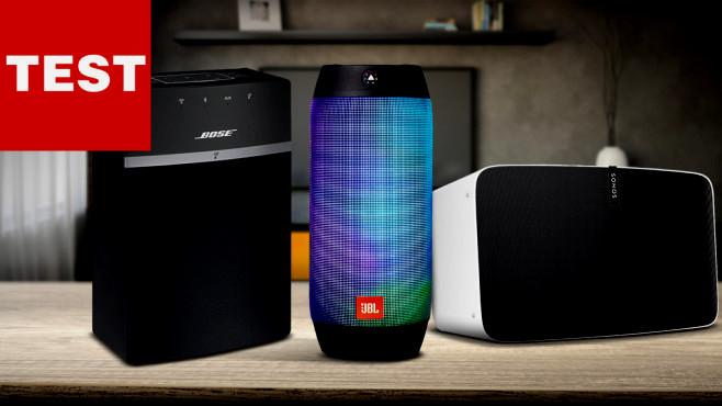 Schönheit Bluetooth Lautsprecher Wohnzimmer puter Bild