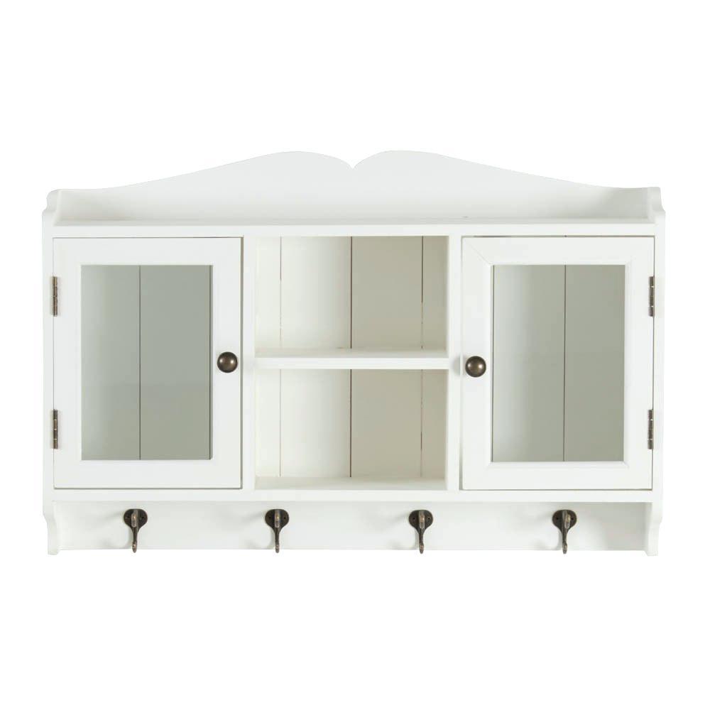 Schrank Wohnzimmer Weiß Konzept