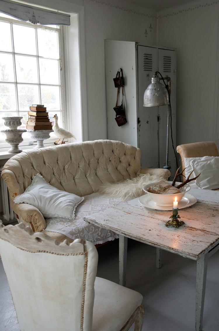 Shabby Chic Wohnzimmer Ideen