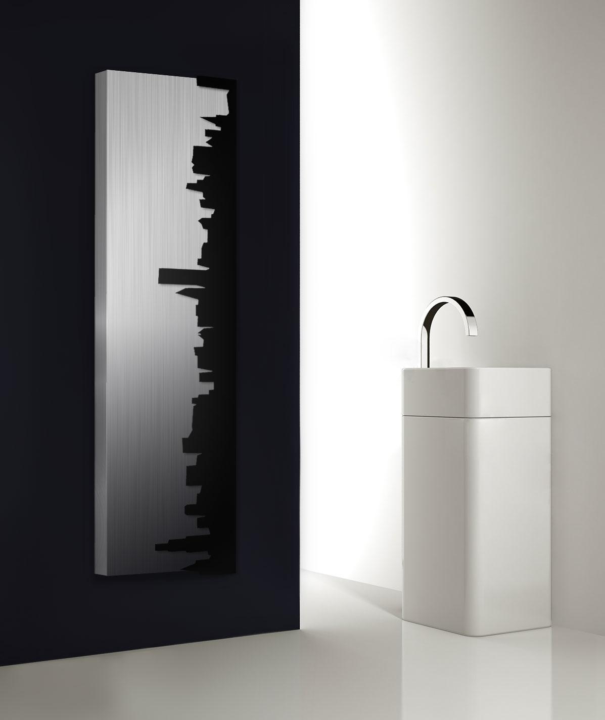 Skyline ist Ein tolle Wohnzimmer Vertikale Design Heizkörper