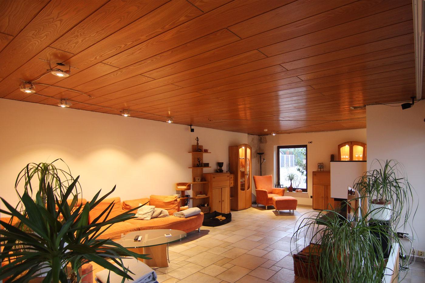 Spanndecke im Wohnzimmer Esszimmer – Bönnigheim