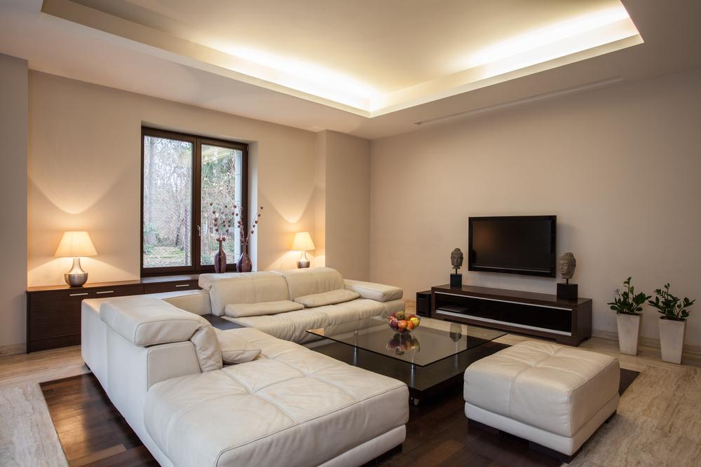 Stimmungsvolle Beleuchtung für das Wohnzimmer