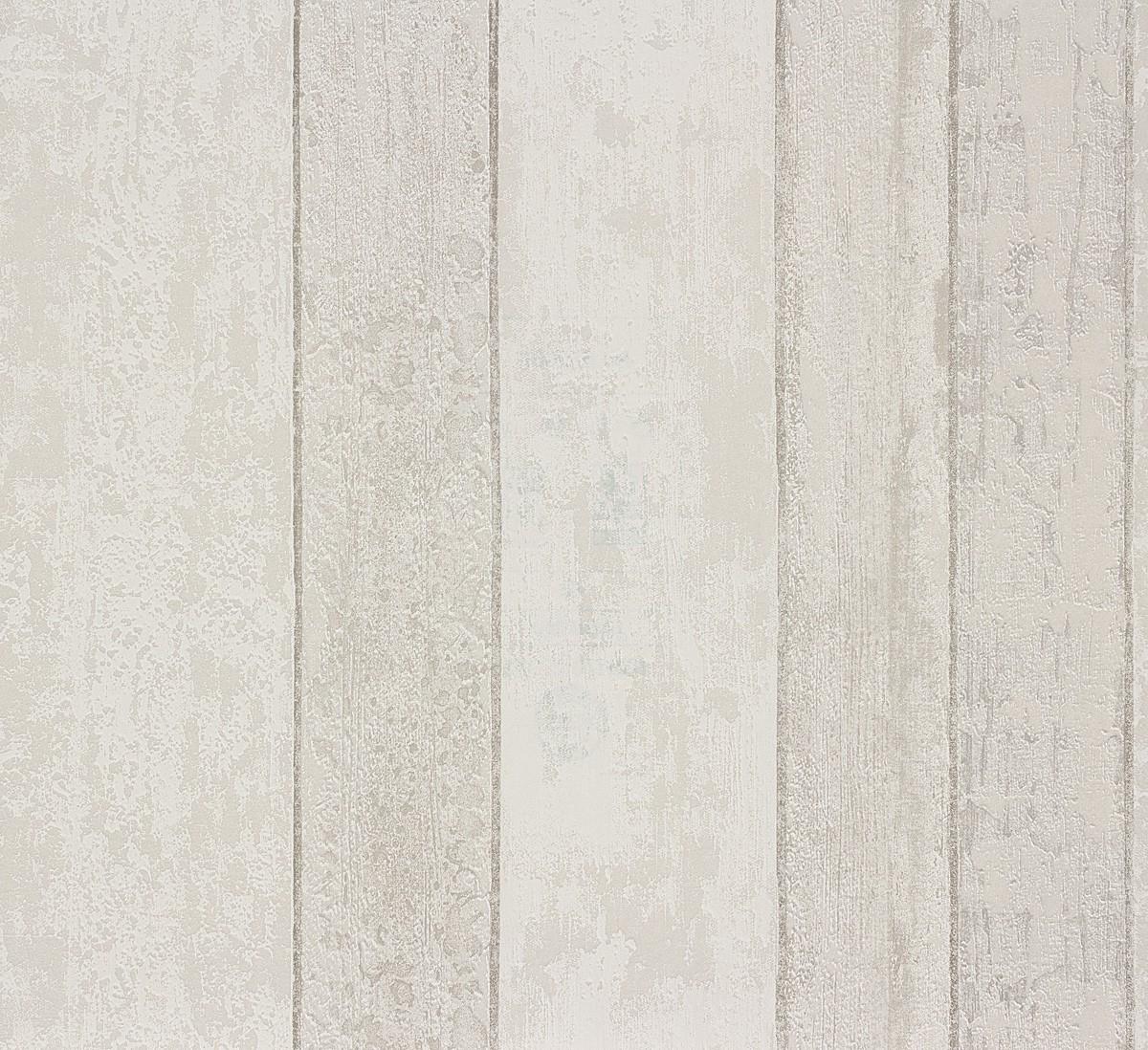 Tapete Holz Holzbrett Rasch Pure Vintage grau weiß