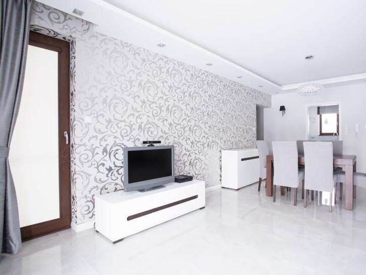 Tapeten 13 Ideen zur Wandgestaltung im Wohnzimmer