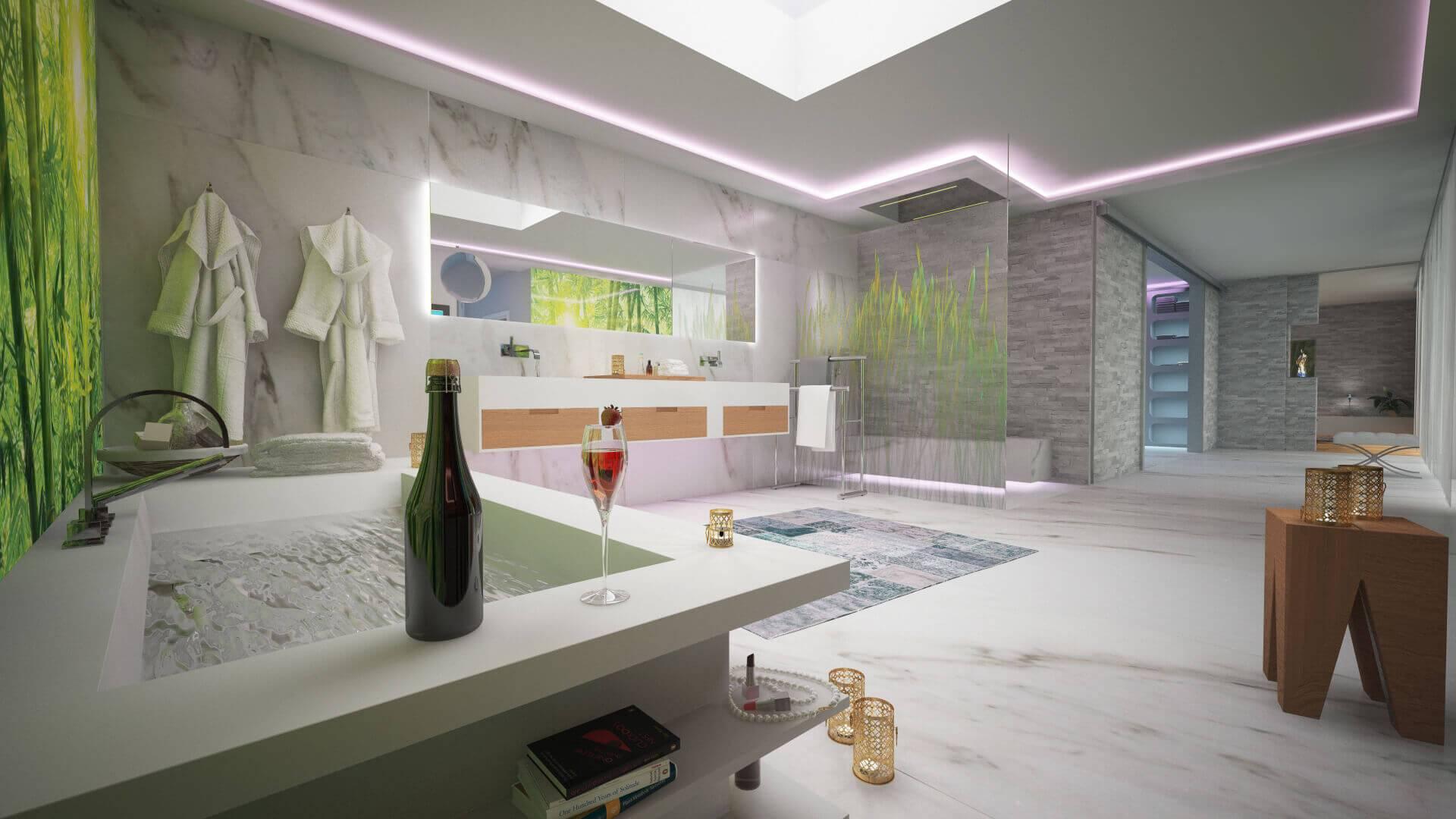 Tapeten Trends 2019 Wohnzimmer