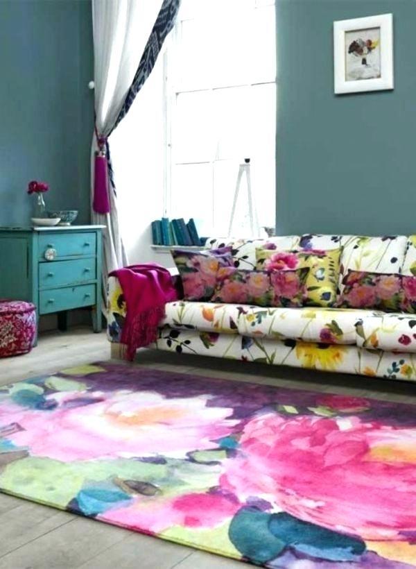 Teppich Wohnzimmer Bunt Fur Richti Multicolor Graue Lila