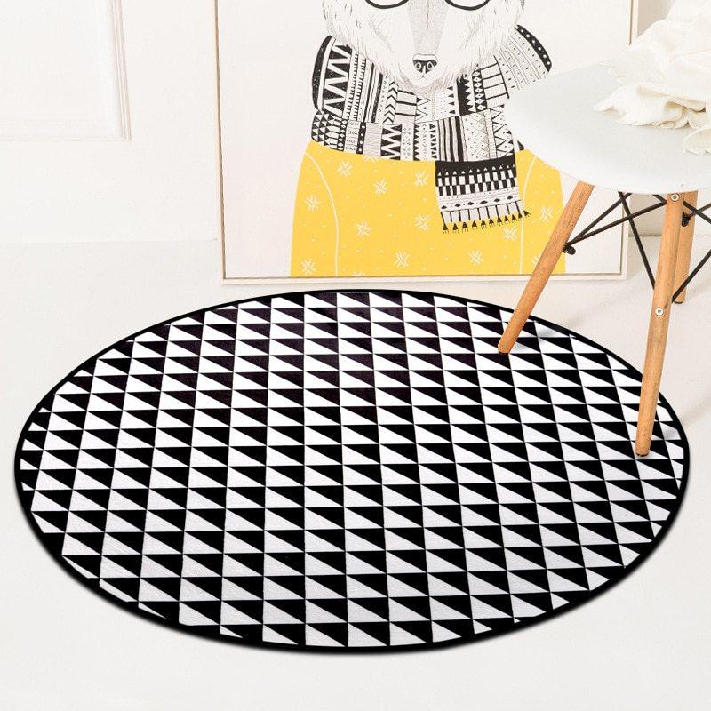 Teppiche Nordisch Handmade Wohnzimmer Modernes Sofakissen