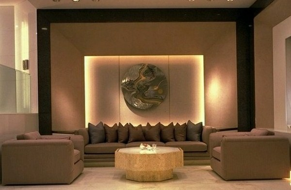 The Living Room In Two Feng Shui Bagua Areas – The Earth