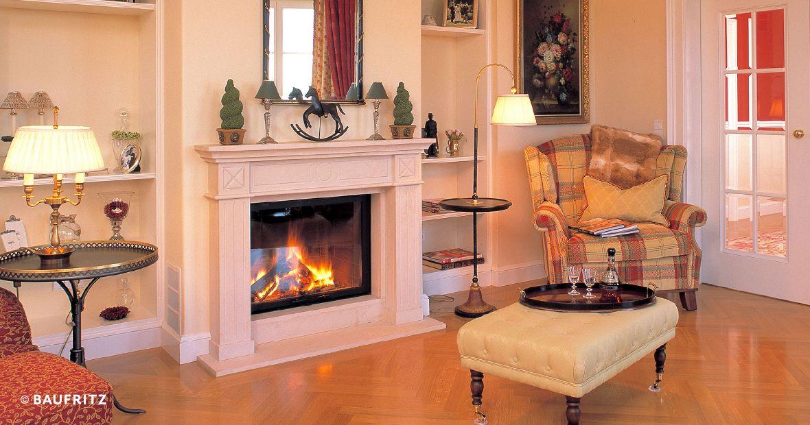 Traditionelle Landhausvilla von Baufritz Luxus