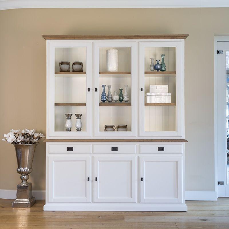 Vitrine weiß im Landhausstil Möbel Design