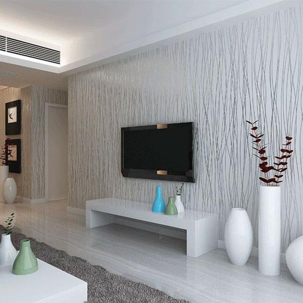 Vliestapeten Frische ins Wohnzimmer bringen
