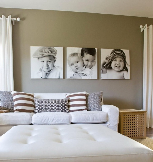 Wanddeko ideen wohnzimmer