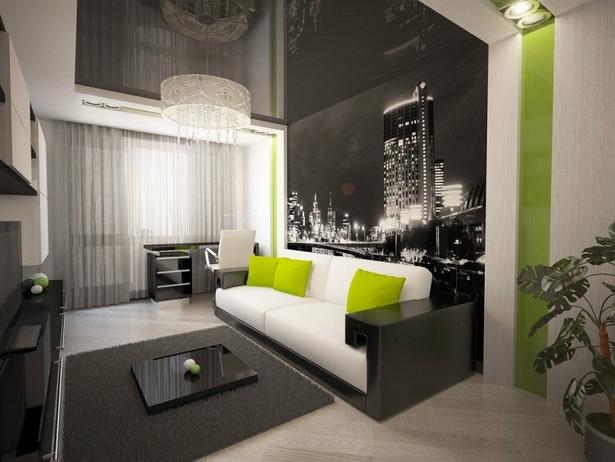 Wände im wohnzimmer gestalten