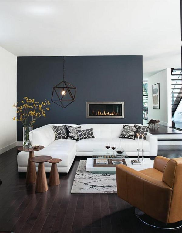 Wandfarbe Grau perfekte Hintergrundfarbe in jedem Raum